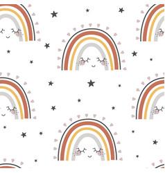 Rainbow seamless vector