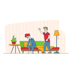 Relationships problem couple fighting concept vector
