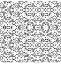 seamless pattern thin geometric figures vector image