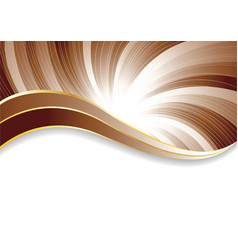 vector abstract chocolate background vector image vector image