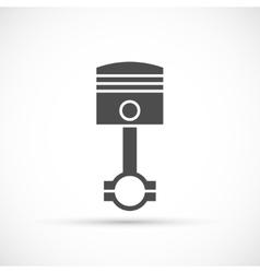Piston engine icon vector image