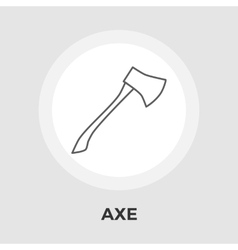 Axe Flat Icon vector image