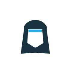 shawl colorful icon symbol premium quality vector image