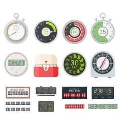 Timer clocks set vector