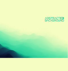 3d landscape background green to blue gradient vector