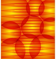 Abstract red orange background with circles vector image