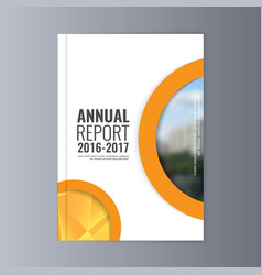 annual report vector image