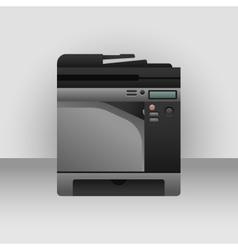 Big printer vector image