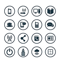 Corporate icons universal set vector