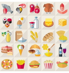 Food light vector image