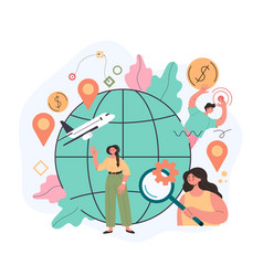 globalisation transportation online web vector image