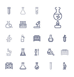 Lab icons vector