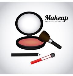 Make up design vector
