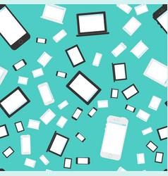 Technics and devices seamless pattern vector
