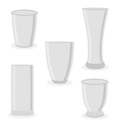 the theme teacup vector image
