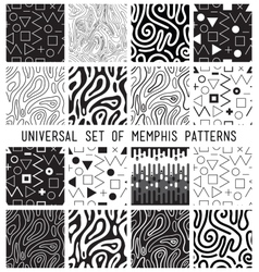 Universal lineal geometric seamless pattern vector