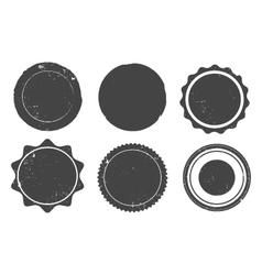 Grunge stamp set vector