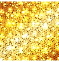 Christmas golden glitter background vector image vector image