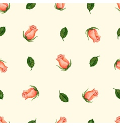 Colorful Watercolor Floral Background vector image