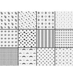 Geometric pattern design vector image