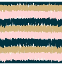 Hand Drawn Stripes Seamless Pattern vector image