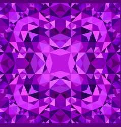 Purple abstract repeating triangle mosaic tile vector