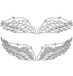 wings pack vector image