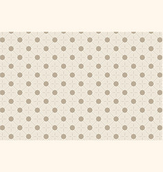 beige abstract seamless geometric pattern vector image
