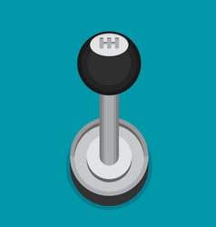 flat transmission icon vector image