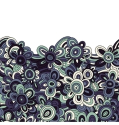 floral pattern For easy making seamless vector image