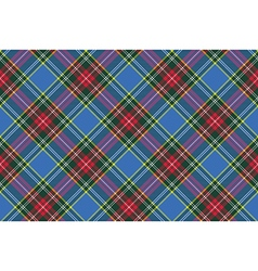 Macbeth tartan kilt fabric textile diagonal vector