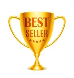 Best Seller Award vector image vector image