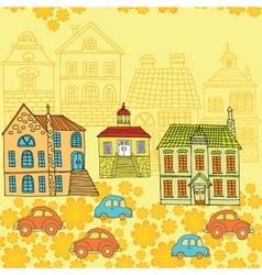 neighbourhood pattern vector image vector image