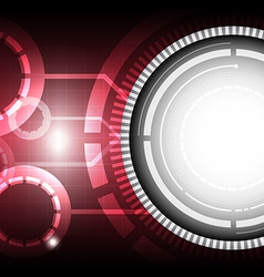 technology concept background vector image vector image