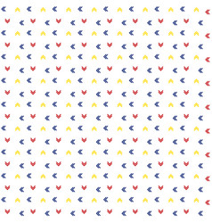 arrow pattern background vector image