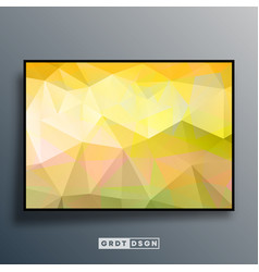 background template with colorful gradient texture vector image