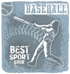 Baseball best sport vector