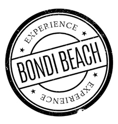Bondi beach stamp vector