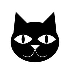 cute cat cartoon icon vector image