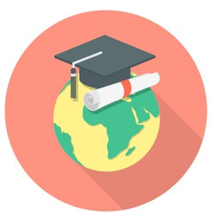 International Education Concept vector