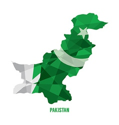 Map of Pakistan vector