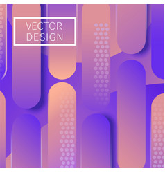 modern geometric design background vector image