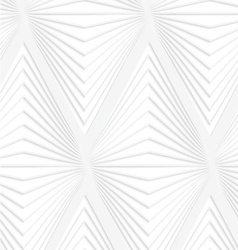Paper cut out horizontal onion shapes vector