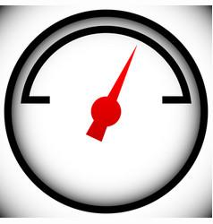 Pressure gauge generic dial template graphic vector