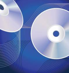 cd background vector image vector image