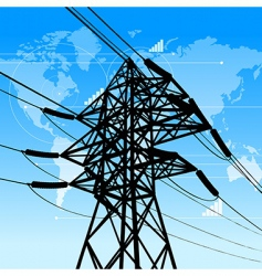 Power industry concept vector