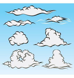 Clouds and Sky vector image vector image