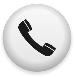 Telephone Symbol vector image vector image