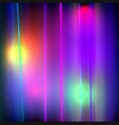 Background with colorful curve lines vector