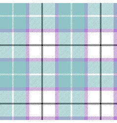 Blue tartan plaid baby color seamless pattern vector